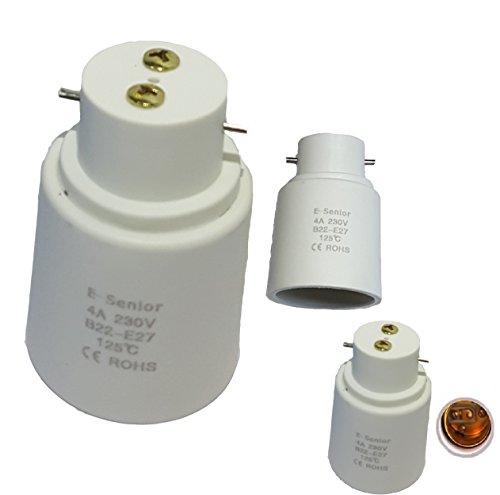 e-senior-lot-de-4-adaptateur-de-douille-b22-vers-e27-normes-ce-rohs