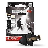 Alpine MusicSafe Pro tappi per le orecchie per i musicisti protezione dell'udito - Migliora la tua esperienza di ascolto - Tre set di filtri intercambiabili - ipoallergenico - riutilizzabili - Nero