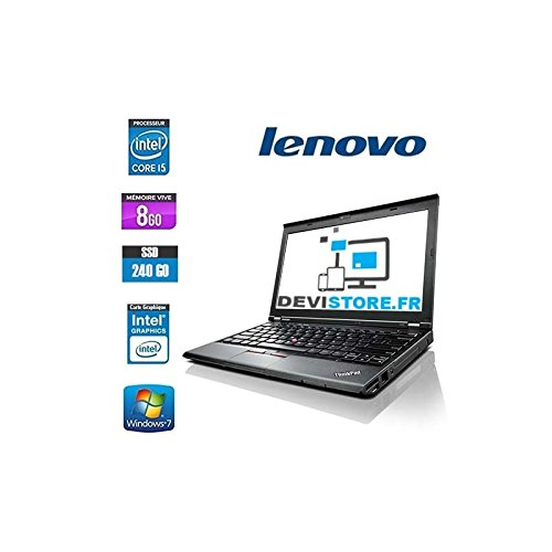 Lenovo Business ThinkPad X230 Ultra Book Core (TM) i5 - 3320 m (3 m Cache, 2.60 GHz), 12.5 'LED 1366 X 768 HD, 4096 MB DDR3, 320 GB, SATA 3 G/GPS/HSPA +, Senza Webcam, Windows 7 Professional (64bit).