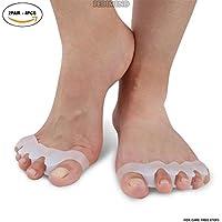pedimendtm Silikon Gel-Zehentrenner Zehen Straightener Fuß Spannrahmen für entzündeten Fußballen Schmerzlinderung... preisvergleich bei billige-tabletten.eu
