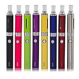 E Zigarette Starterset E Shisha Pen Vape Dampfer Kit mit Akku, 2ml Verdampfer Tank Elektronische Zigarette,USB Ladekabel, Ohne E-Liquid Ohne Nikotin(Silber)