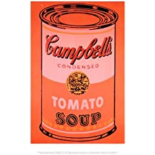 Lámina 'Campbell's Soup Can, c.1965 (Orange)', de Andy Warhol, Tamaño: 36 x 28 cm