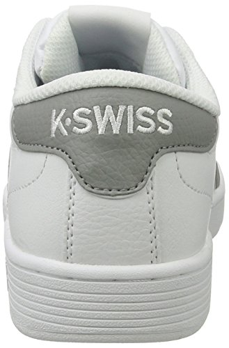 K-Swiss Hoke Cmf, Baskets Basses Homme Blanc (White/Wild Dove)