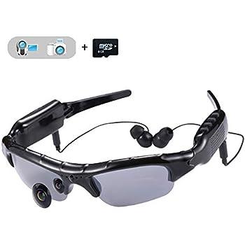 remise pour vente moitié prix haut de gamme pas cher Ecloud Shop® Lunettes de Soleil avec caméra HD 720P ...