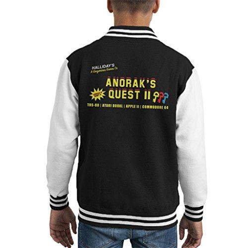 Ready Player One Anoraks Quest Kid's Varsity Jacket - High Five Jacke Kinder