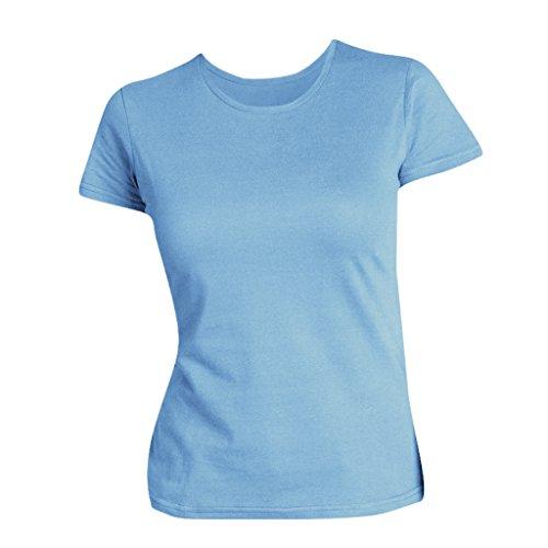 SOLS Miss - T-shirt à manches courtes - Femme Bleu ciel