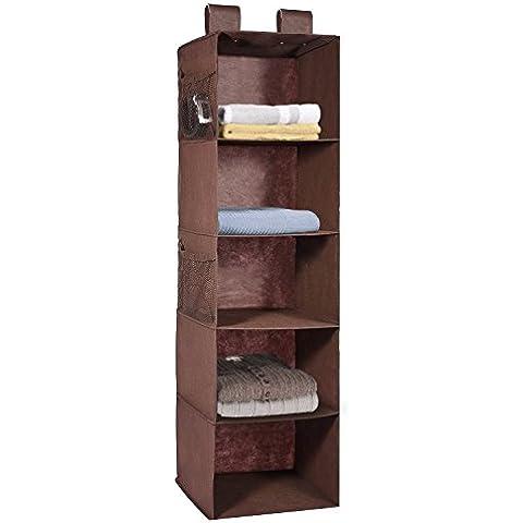 5-shelf Armadio Organizzatore con cassetto, Maidmax Armadio