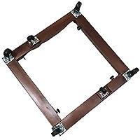 حامل - قاعدة للثلاجة والغسالة والفرن - قابل للتحريك والتحكم بالطول والعرض