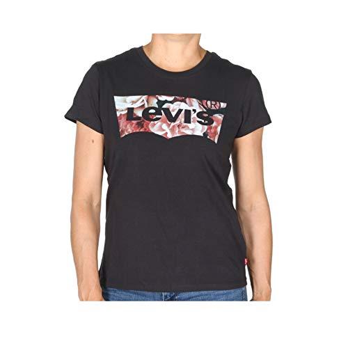 Levi's Damen The Perfect Tee T-Shirt, Mehrfarbig (Hsmk Photo Film Meteorite 0632), Medium (Herstellergröße: M) -