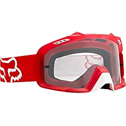 Fox hombre Air Space–Gafas protectoras, red, One size