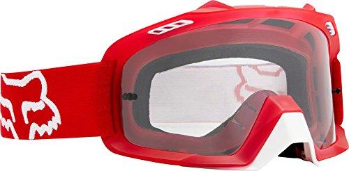 Fox Herren Air Space Schutzbrille, Red, One Size (Fox Mountain-bikes)