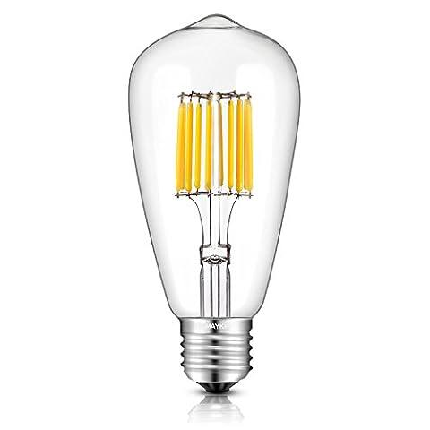 TAMAYKIM ST64 10W Antique Edison Style Ampoule