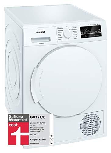 Siemens WT45W463 iQ500 Trockner/Wärmepumpentrockner / A+++ / Selbstreinigungs-Automatik