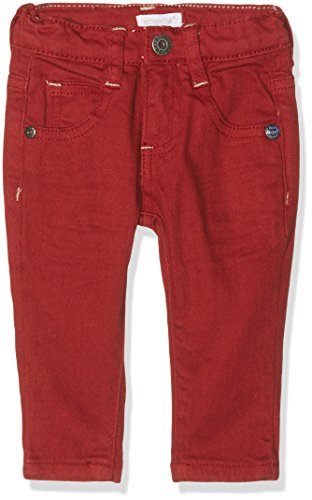 Absorba Baby-Jungen Jean Slim Rot-Red (Dark Red), 74