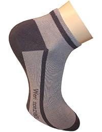 Weri Spezials Chaussettes (Sniakers) pour Hommes. Couleur: Gris clair
