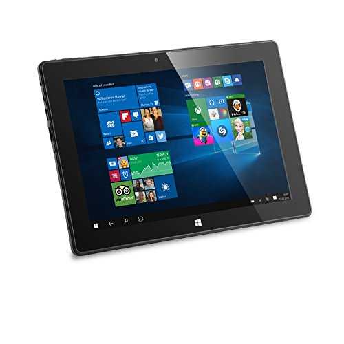 CSL Panther Tab 10 USB 3.1 inkl. Windows 10-10.1 Zoll (25,6cm) Tablet, Intel QuadCore CPU 4X 1920 MHz, 2GB RAM, 32GB SSD