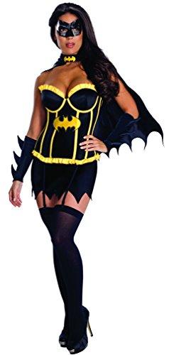 /Damen/Batgirl Korsett Erwachsenen-Kostüm–XS (Batman-batgirl Kostüme)