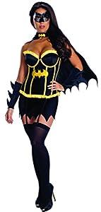 Rubbies - Disfraz de Halloween Batgirl para mujer, talla S (889900_S)