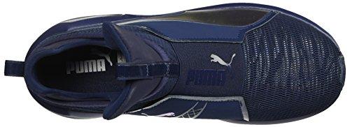 PUMA Women s Fierce Oceanaire Wn Sneaker  Peacoat-Peacoat  9 5 M US