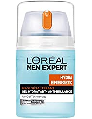 L'Oréal Men Expert Hydra Energetic Gel Hydratant Anti-brillance Visage Homme 50 ml