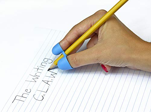 Pencil Grip Writing CLAW, Medium, For Right or Left Handed Users, Blue/Red, Bag of 36 (TPG-21236)