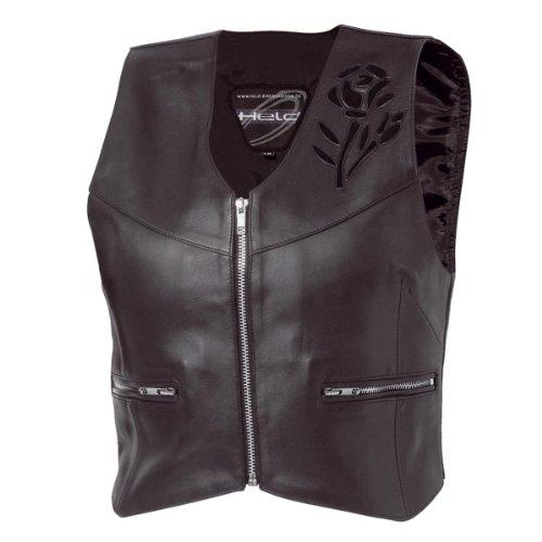 Held - Gilet moto femme en cuir ref_hel5771-14938-noir noir