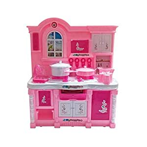 Tickles Pink Baby Musical Kitchen Set for Girl 24 cm