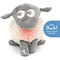 Sweet Dreamers, Ewan Deluxe with Shush - Washable Baby Sleep Aid with Cry Sensor