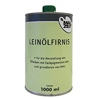 Leinölfirnis 1000 ml-Dose