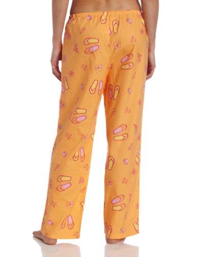 Life is Good Damen Flip Flop Toss Sleep Hose orange - tangerine orange