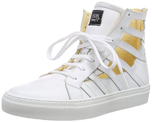 Sconosciuto - Sisika, Scarpe da ginnastica Donna Bianco (Weiß (blanco))
