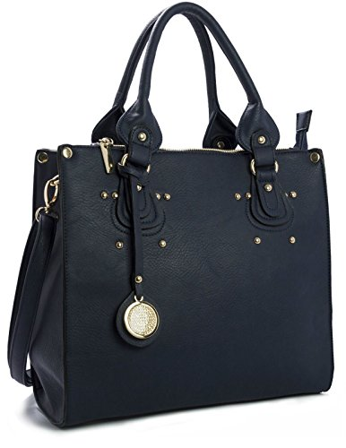 Big Handbag Shop, Borsa a mano donna One Navy (NL220)