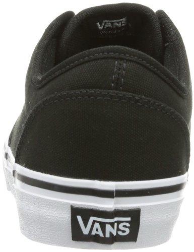 Vans Atwood, Unisex Kids' Low-top Sneakers, Black ((Canvas) Blackwhite), 6 Uk (39 Eu)