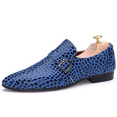 Chaussures d'hommes Office & Carrière / Party & soirée / Mocassins décontracté Noir / Bleu / vert / orange Black