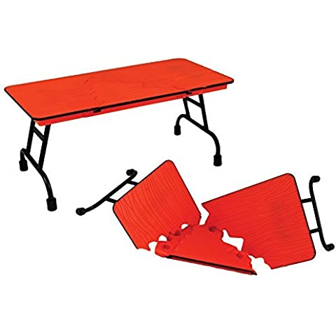 ULTIMATE TABLE (ORANGE) - RINGSIDE COLLECTIBLES EXCLUSIVE WWE TOY WRESTLING ACTION FIGURE ACCESSORY by Wrestling