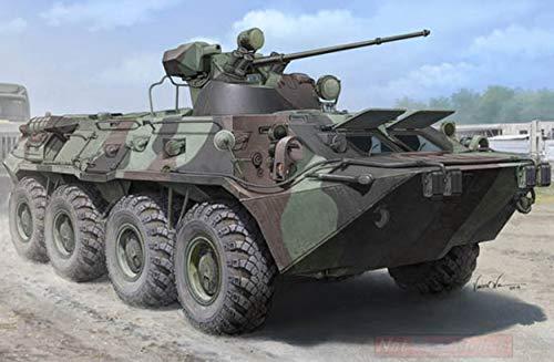 Trumpeter TP1595 CARRO Russian BTR-80A APC KIT 1:35 MODELLINO Model kompatibel mit -