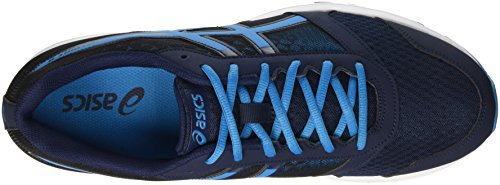 Asics Patriot 8, Chaussures de Running Homme Multicolore (Dark Navy/Blue Jewel/Black)