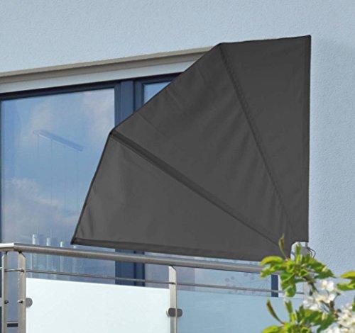 Balkonfächer Sichtschutz / Sonnenschutz / Windschutz natur