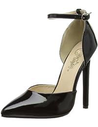 Pleaser EU-SEXY-21 - Zapatos de tacón de material sintético mujer