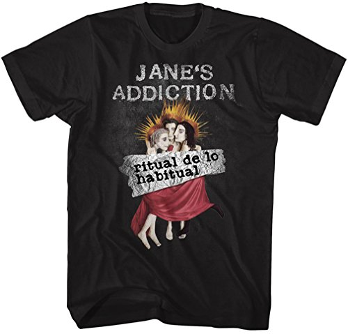Janes Addiction - - Männer Ritual De Lo Habitual T-Shirt, Large, Black