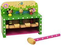 Andreu Toys 18.2 x 10.5 x 15 cm Hit and Jump Garden Bench (Multi-Colour)