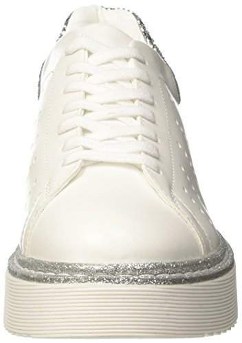 Cult Eagles Low 1450, Sneaker a Collo Basso Donna Multicolore (White/Silver)