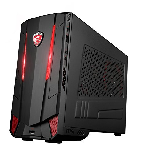 MSI Nightblade MI3 VR7RC-002DE Gaming-PC (Intel Core i7-7700, Nvidia GeForce GTX1060 6GB, 2 x 8GB DDR4, 128GB SSD, Windows 10 Home) schwarz