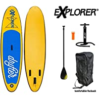 Explorer Sup Drifter 290 x 75 x 10 cm Inflatable ISUP hinchable de aluminio Remo Stand