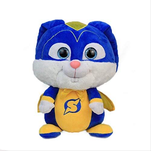 Ylout Das Geheime Leben Der Haustiere 2 Captain Snowball Plüschtiere 30Cm,Puppe Gefülltes Kaninchen Geburtstags Kinder -