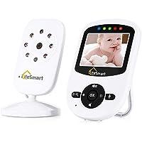 ILifesmart Baby Monitor con Videocamera Digitale 2.4pollici con Visione Notturna Ninnananna