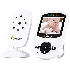 Idea Regalo - Clicca sull'immagine per la visualizzazione estesa SmartLife VB601 Wireless Digital Baby Monitor Video visione notturna audio bidirezionale (4)