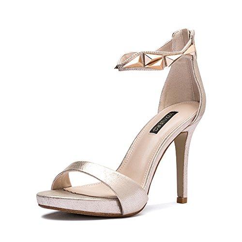 Mesdames les hauts talons sandales d'été/Chaussures à talon avec des dames de mode hautes talon sexy Joker