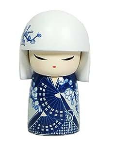 Kokeshi Poupée Japonaise 6cm Mana Charme by Kimmidoll