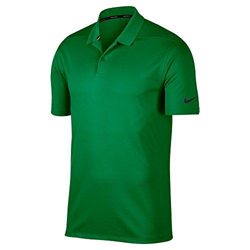 Nike Herren Dri-Fit Victory Poloshirt, Classic Green/Black, L - Dri-fit-grün